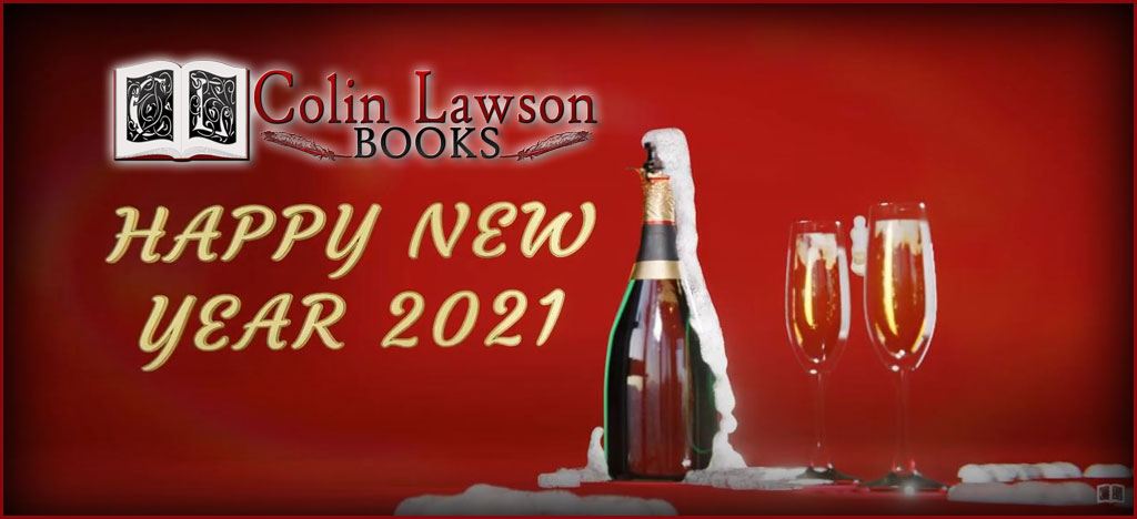 Video: Happy New Year 2021 from Colin Lawson Books